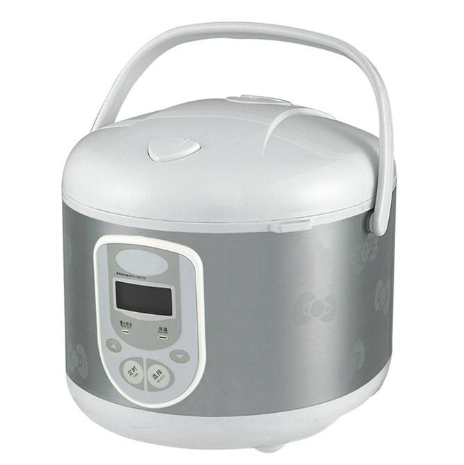 deluxe rice cooker in square