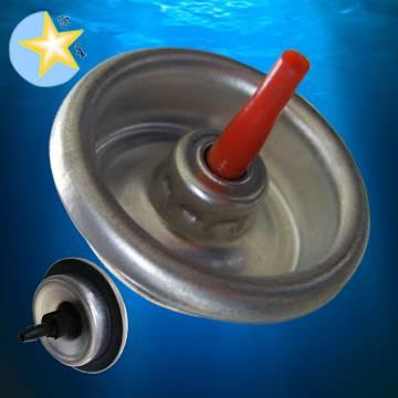 Lighter gas refill valve