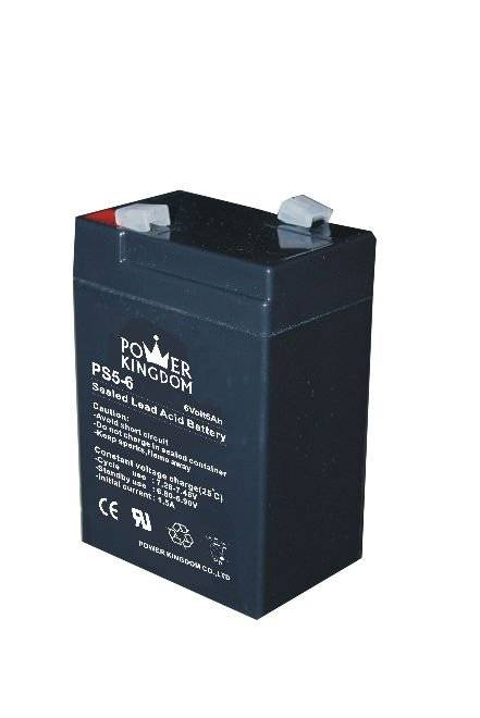 6V5ah lead acid batteries