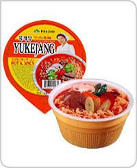 Instant Noodle(HOT & SPICY NOODLE(YUKEJANG))