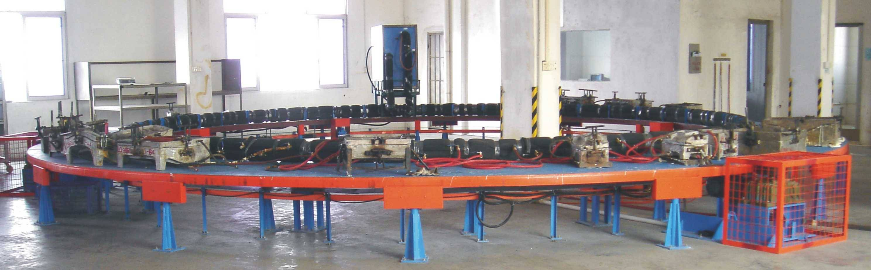PU Foaming Mould Turntable