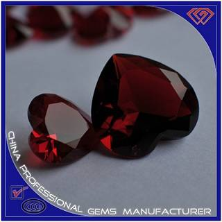 Red Synthetic China Large Glass Stone For Sales