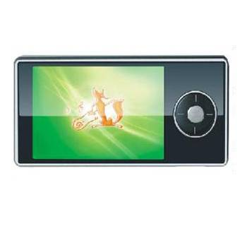 High-quality mp4  2.4 TFT display, TV-OUT and DV functions