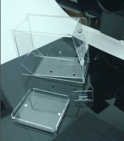 Bespoke Acrylic Display Box for Candy in Store/Mall