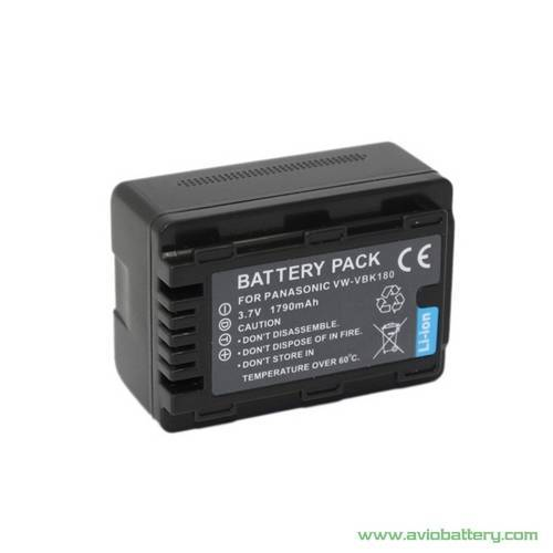 Camera Battery VW-VBK180 for Panasonic SD90