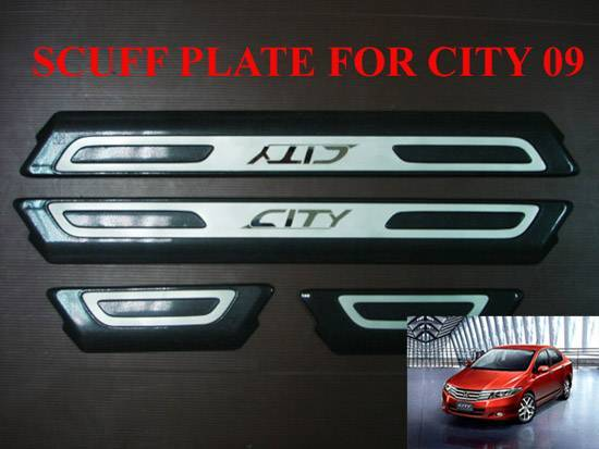 SCUFF PLATE HONDA NEW CITY 09