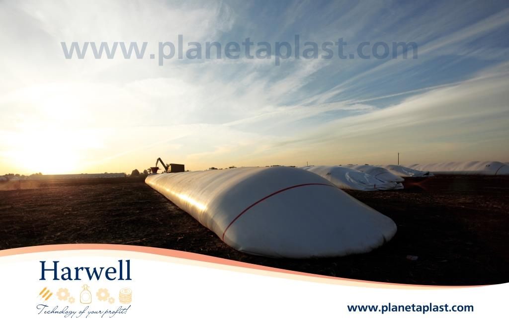 "Polyethylene bags for packing grain and silage ""Harwell""_PLANET PLASTIC UKRAINE"