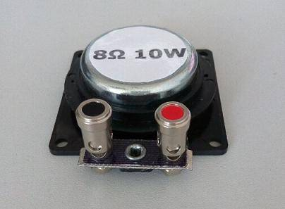 high quality 8 Ohm 10W Electrodynamic Exciter with mounting holes easy for connection