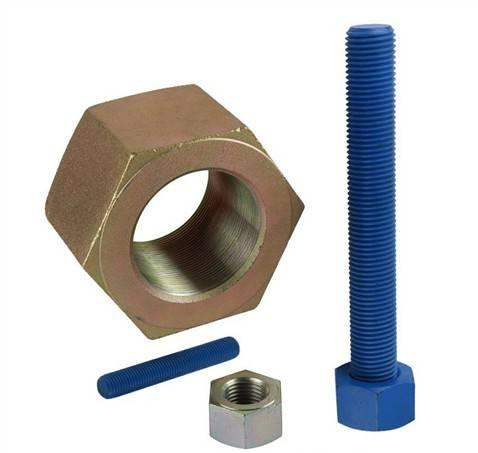 DIN975 Thread Rod/DIN934 Hex Nuts