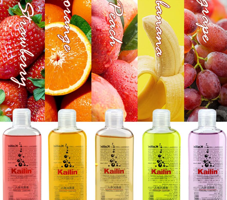 200ml personal lubricant alcohol free good quality fruit flavor