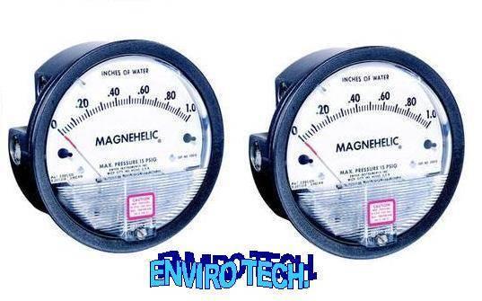 Magnehelic Gauge.