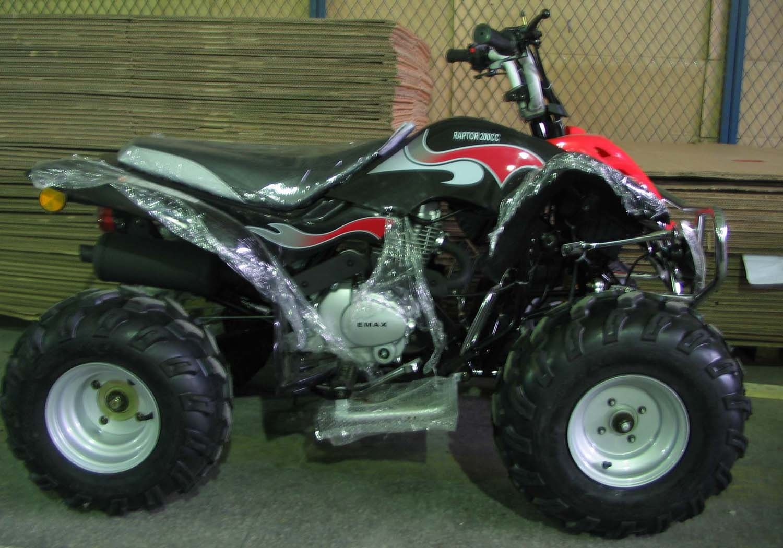 yamaha raptor atv style for 150cc
