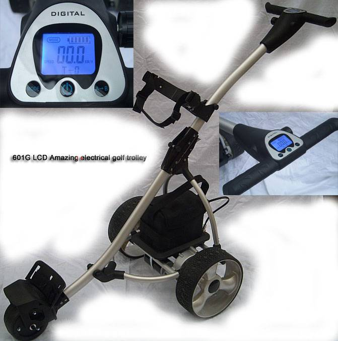601G LCD Amazing elctrical golf buggy