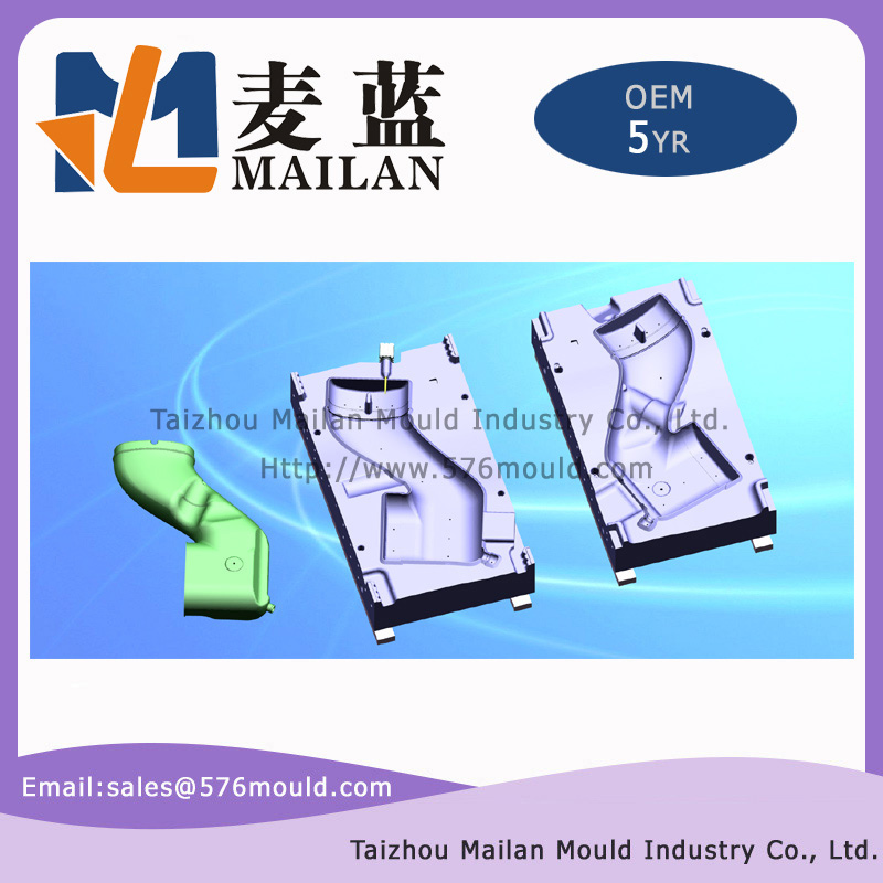 Heavy duty truck intake blow mould