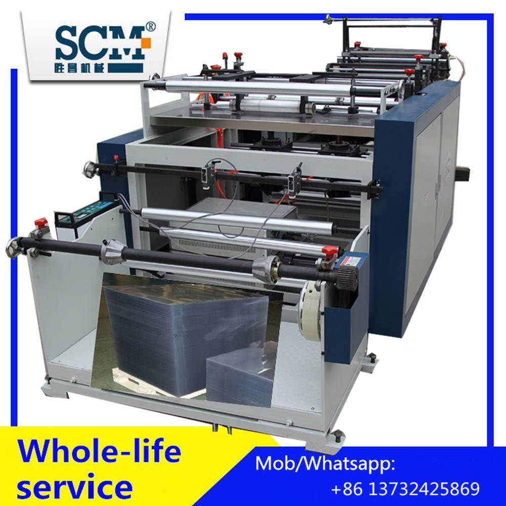Automatic PVC/film/paperroll to Sheet Cutting Machine