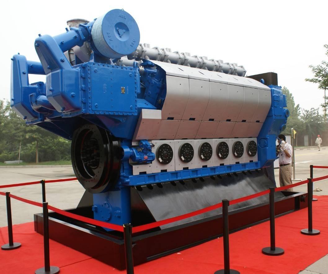 MAN 26/32 4mw China Gas Engine