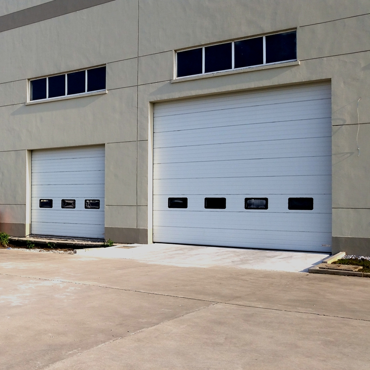 CE Certificated China Supply Sectional Commercial Industrial Doors