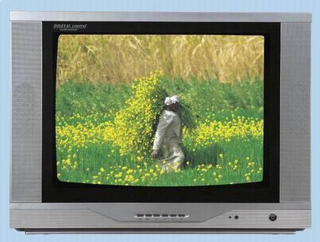 34'' color tv