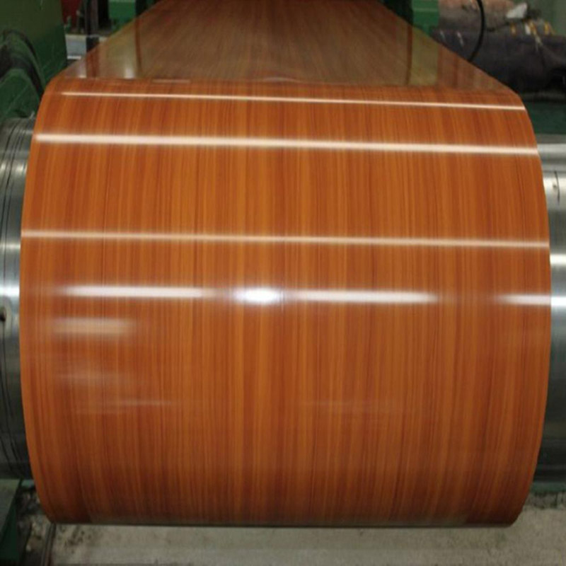 Wood Pattern PPGI Steel Coil From Shandong for Sandwich Panel