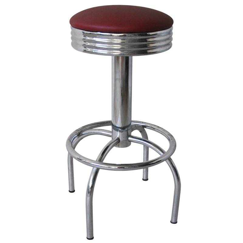 Swivel Chrome Bar Stool Bar Furniture (ALL-SBS-6B)
