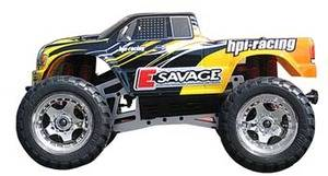 E-Savage RTR Electric MT w/GT Truck Body