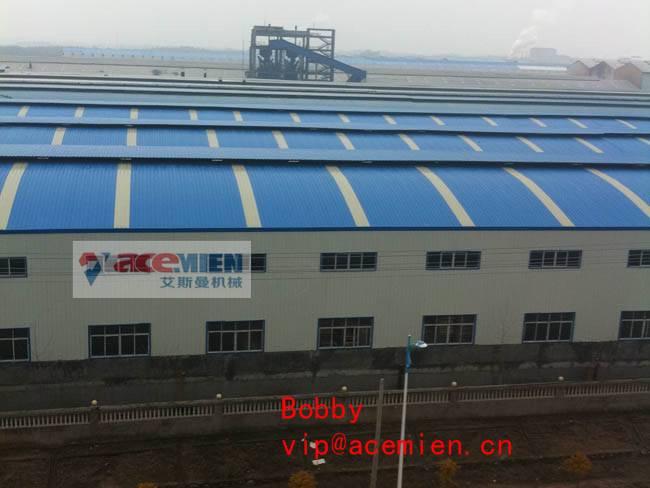 One/single layer PVC corrugated Roof tile making machine