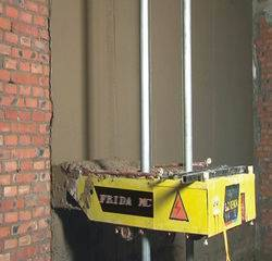 wall render machine, plastering machine