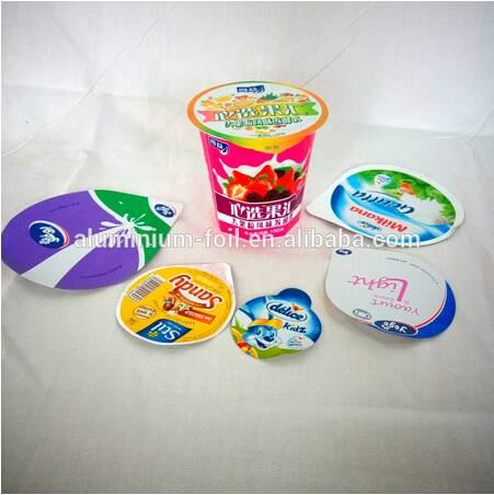 Yoghurt Lidding Foil With Coating PP/PS/HSL