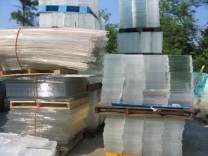 waste PMMA sheet