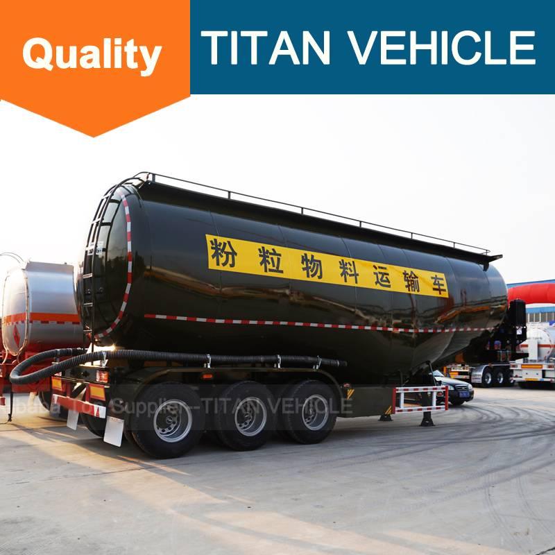 Titan Vehicle V Type Cement Semi Trailer trucks and trailers semi trailer tanks