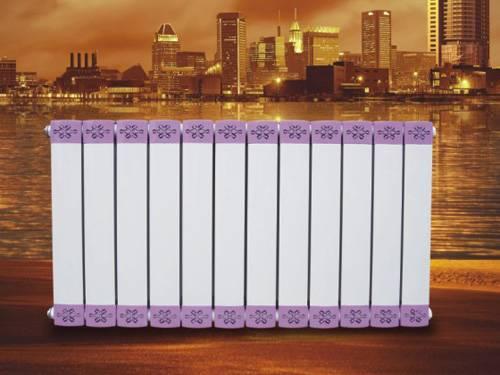copper and aluminum composite radiator