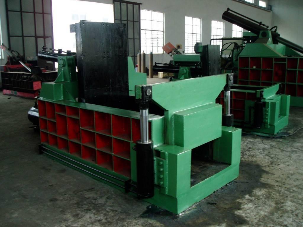 Metal press block machine