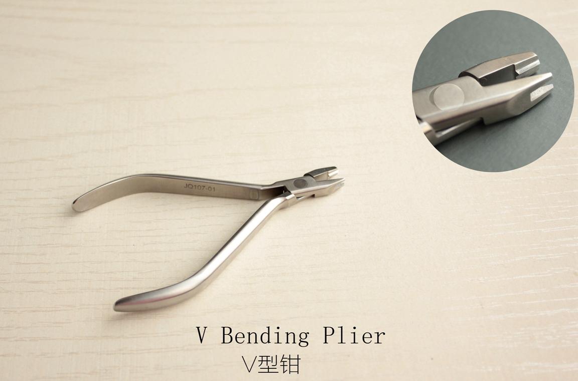 Orthodontic Plier- dental instruments-V Bending Plier