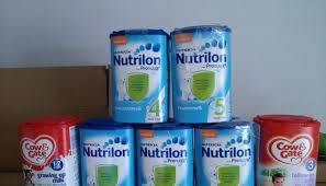 NETHERLANDS HOLLAND DUTCH ORIGIN NUTRICIA NUTRILON baby milk powder all stages available for sale