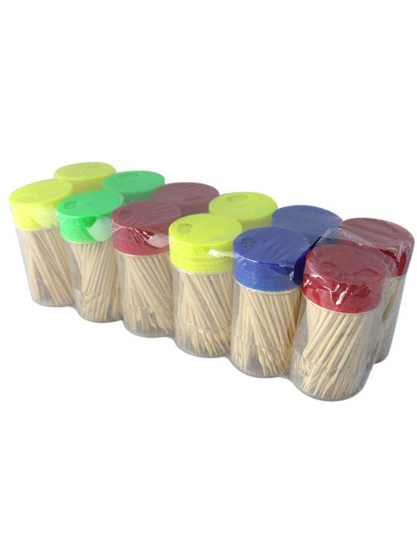 New Bamboo wood Toothpicks Holders kitchen & restaurant cocktail stick