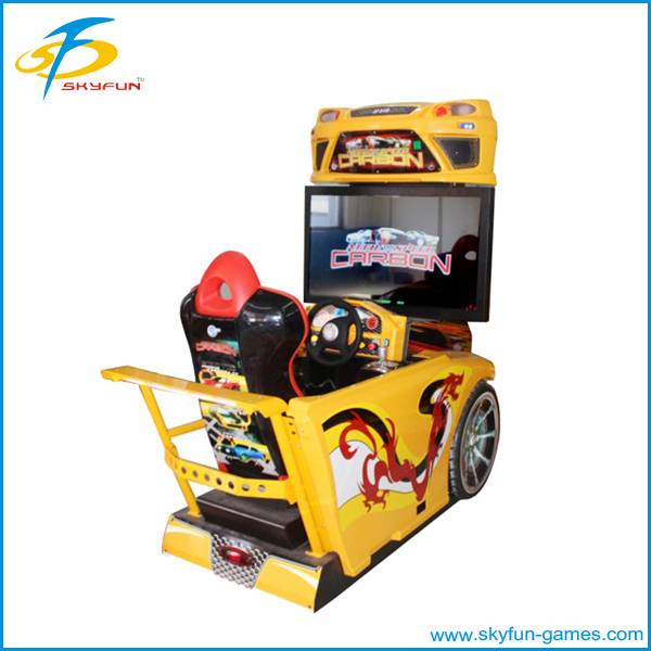 arcade center Coin operate racing car machine