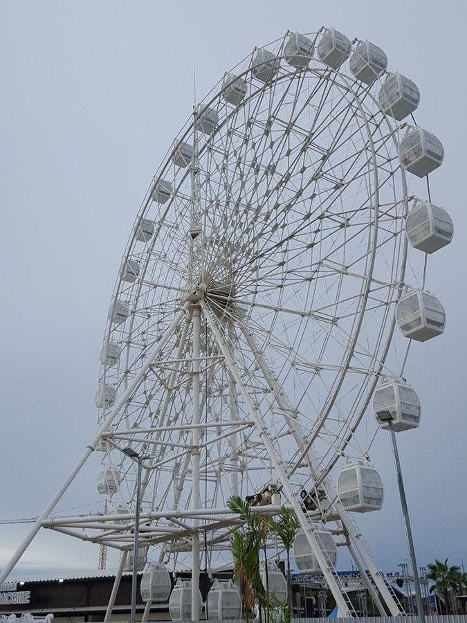 theme park hot sale 42m ferris wheel