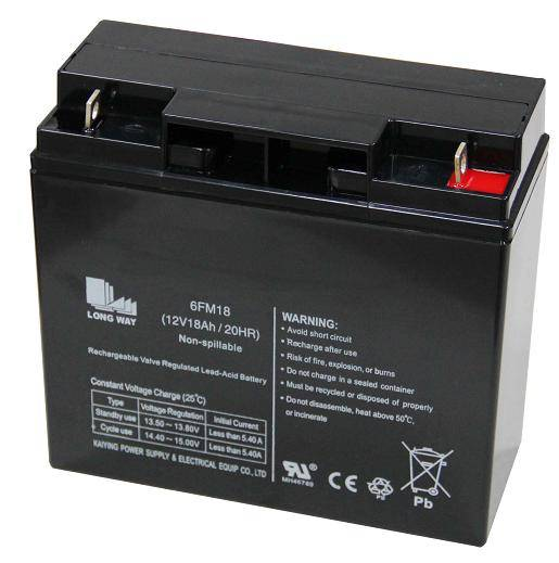 Sealed Lead Acid battery/6FM18(12v18ah/20hr)
