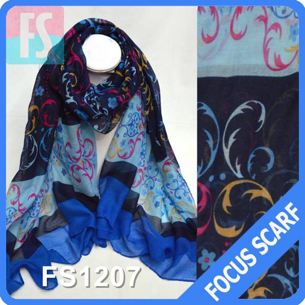 Factory price for voile scarf