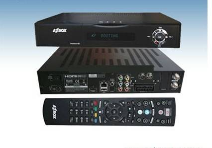 DVB-S2 hd premium Azbox digital satellite receiver