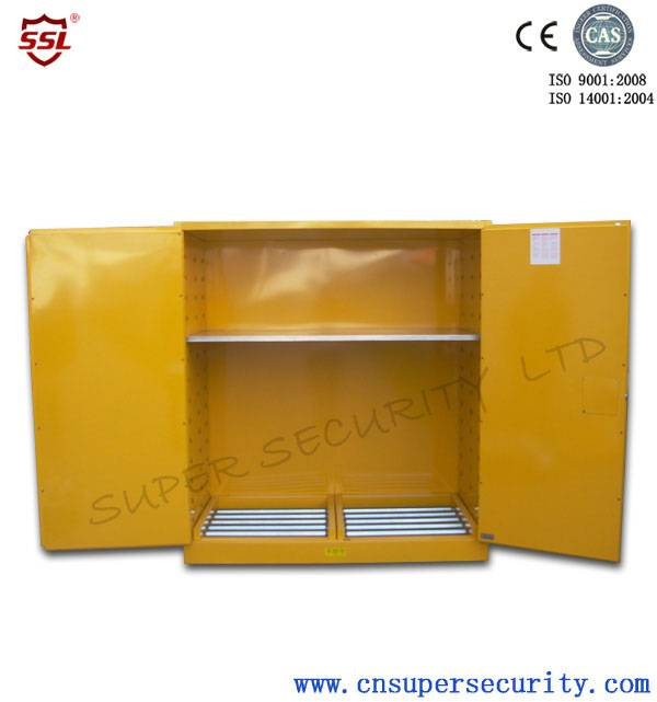 Out door storage 4 drum rollers safety cabinet