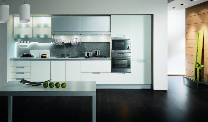 Bake Panit Kitchen Cabinets,Panited Kitchen Cabinets,Lacquer Finish Cabinets, MFC Cabinets