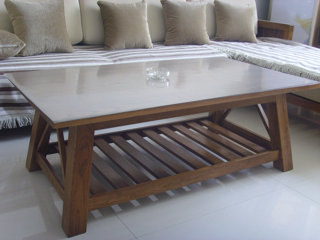 Coffee Table & Sofabed Set: living room furniture, wooden furniture, solid oak furniture