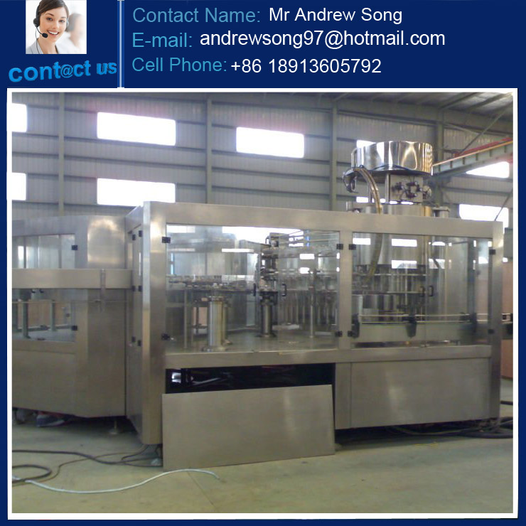 Monoblock bottled water production line