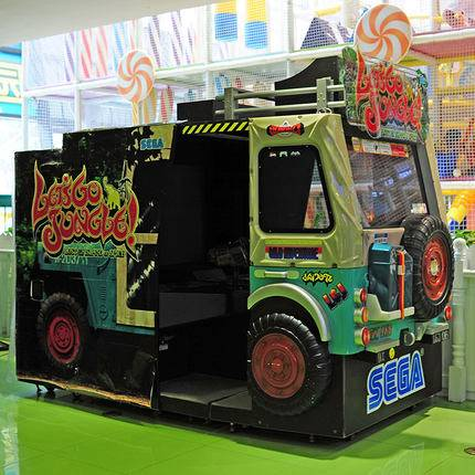 Let's Go Jungle Shooting Game Machine Hot indoor game machine