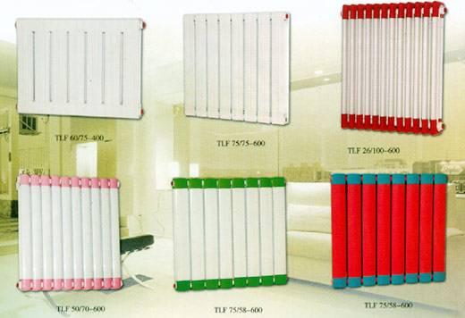 Supply Copper-aluminum complex radiator