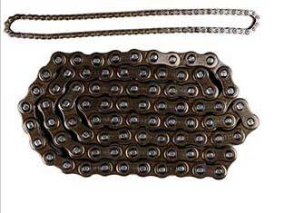 Motorcycle roller chain: 420 (08A), 428 (08B), 428H (08BH), 520,520H, 530 (10A), 630 (12A)