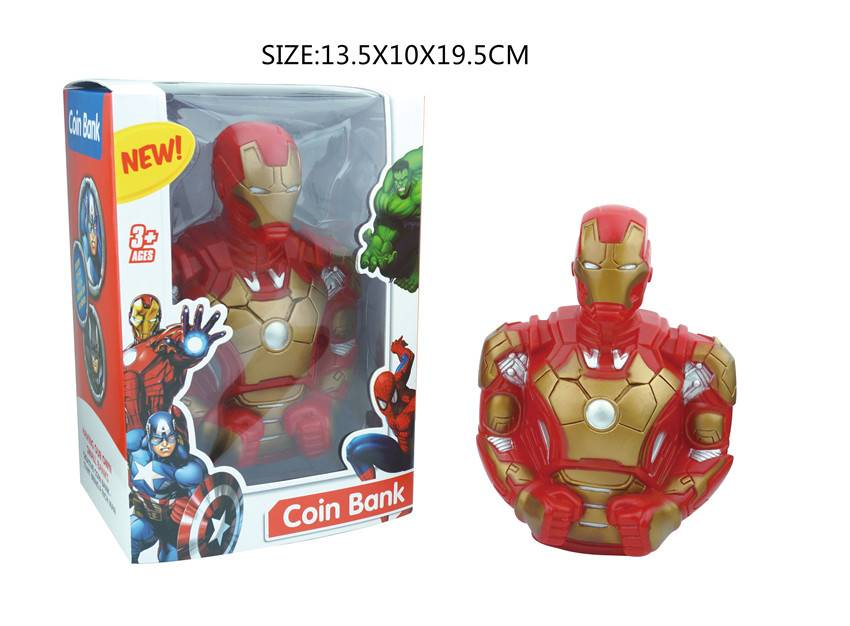 Cion Bank of Ironman Marvel Action Figure