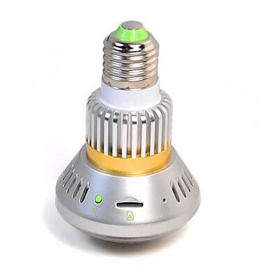 2.4G Wireless Bulb CCTV Security Camera
