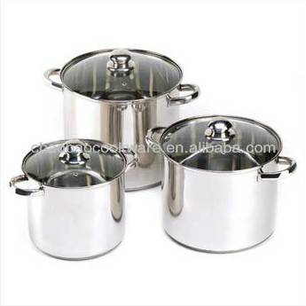 Stainless steel high pot stock pot